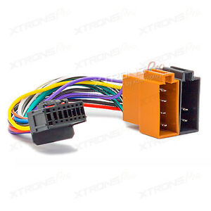 iso wiring harness power cable for pioneer deh p 2600 r. Black Bedroom Furniture Sets. Home Design Ideas