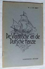 De vlaamsche en de duitsche hanze van Dr. J. de Smet – 1941