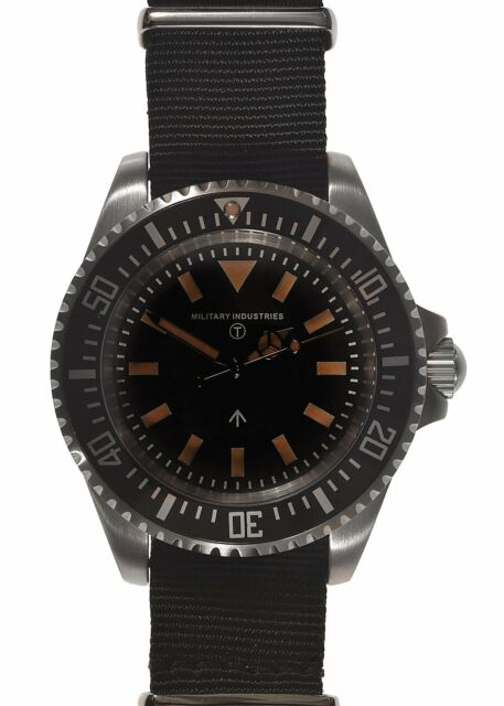 Military Industries1982 Pattern 300m / 1000ft WR 24 Jewel Automatic Divers Watch