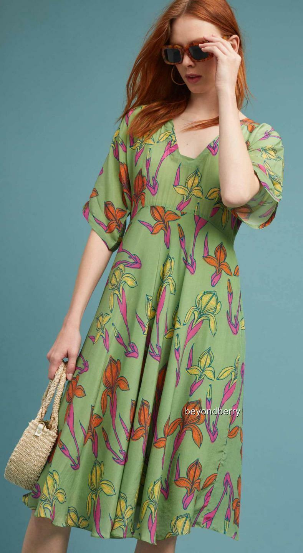 NEW Anthropologie Raina Kimono Dress by Anupamaa  Size 4