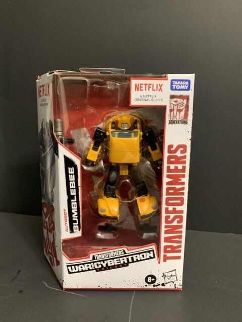 Transformers War for Cybertron Netflix BUMBLEBEE Walmart Exclusive Brand New