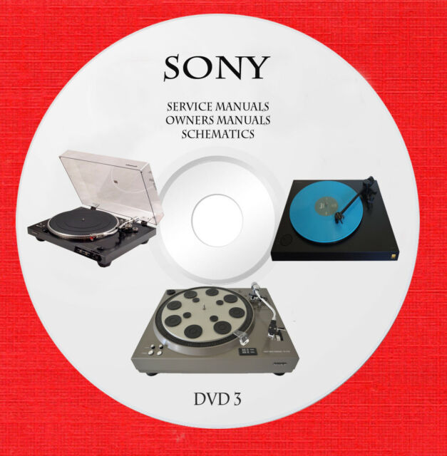Sony Dvd Vcr Audio Stereo Service Schematics And User