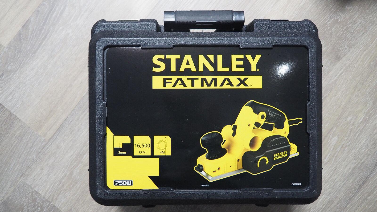 Stanley FME630K Elektro-Hobel, kabelgebunden, 750 W