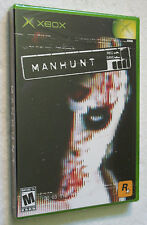 Microsoft XBOX Rockstar Games MANHUNT Brand New Unopened