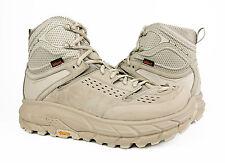 Hoka One One Tor Ultra Hi WP Oxford Tan Hiking Trail Boots Mens Size 7 *NIB*