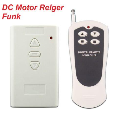 DC Motor Linearantrieb Relger Funk Oben//Unten Fernbedienung/&Steuerung 500M Steue