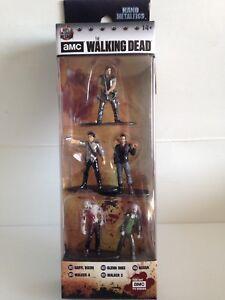Nano metalfigs The Walking Dead DIE CAST 5 Pack B chiffres negan Darryl Glenn