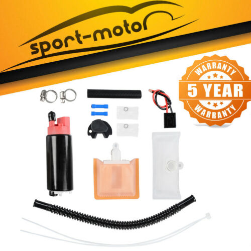 Intank Fuel Pump W// Free Installation Kit For GSS342 Fuel Pump 255lph Power Flow