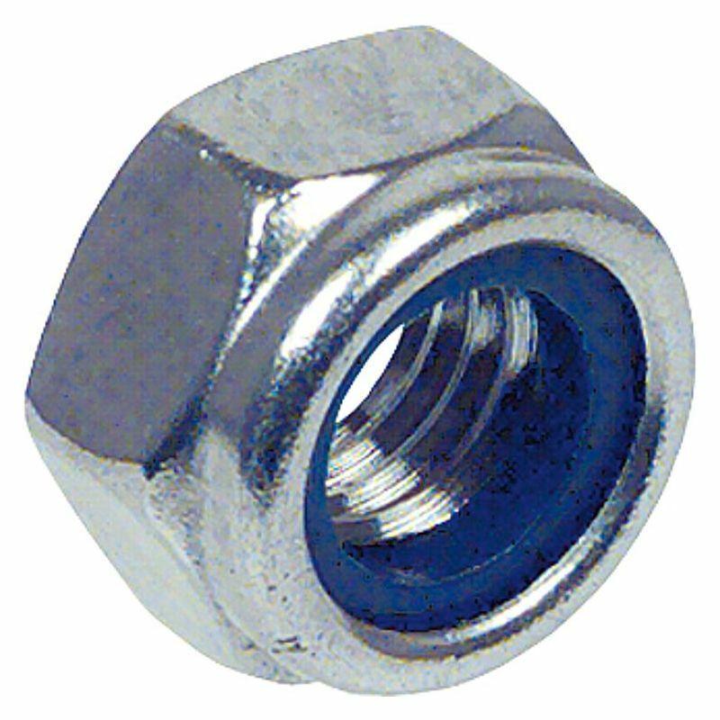 Sechskantsicherungsmuttern mit Kunststoffring A2 DIN 985 M 8 neue VPE  1000 Stc  | Abgabepreis