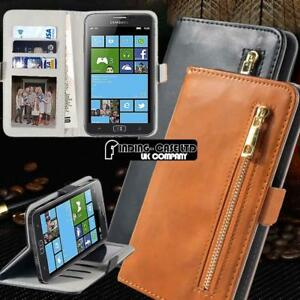 Flip-Cover-Stand-Wallet-Leather-Case-For-Samsung-Galaxy-S1-2-3-4-5-7-Smartphones