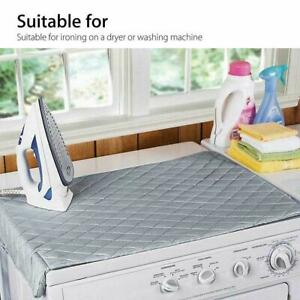 Portable-Magnetic-Mat-Washer-Ironing-Cover-Dryer-Replace-Board-Resistant-B7L9