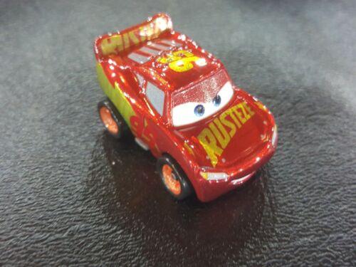 DISNEY PIXAR CARS MINI RACERS LOOSE RUST-EZE RACING CENTER LIGHTNING MCQUEEN
