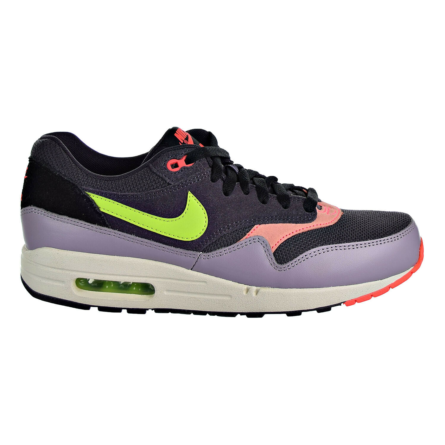 Nike Air Max 1 Essential Men's Sneaker shoes Cave Purple Green 537383-500