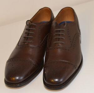 Intelligent Nouveau Luxe Chapman & Moore Wickham Oxford Cuir Chaussures Formelles Chaussures Marron Uk8-afficher Le Titre D'origine Nouveau Design (En);