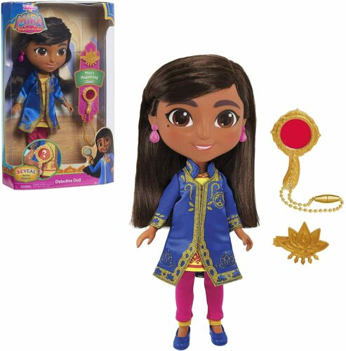 Disney Junior Mira Royal Detective 10-Inch Mira Detective Doll Gift Set