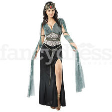Ladies Sexy Medusa Fancy Dress Costume Greek Roman Goddess Cleopatra Halloween
