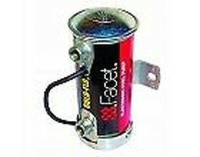 FACET Argento Superiore Pompa Carburante Elettrica cilindrica per Auto da Corsa Rally Kit 476087E