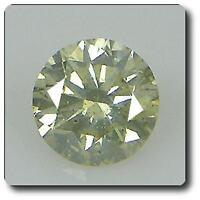 Yellow Diamond . 0.10 Cts . Si3 . Africa