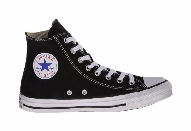 86c7096b6e9 Converse Shoes Chuck Taylor All Star Hi Top Black White Men s Sneakers M9160