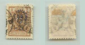Lithuania 🇱🇹 1926 SC B30 used wmk 147 . rta245