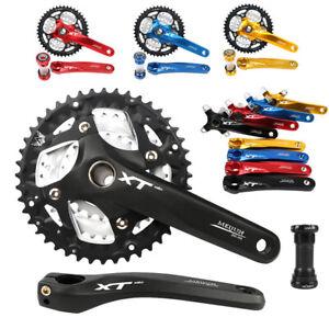 MEIJUN-9-27-Speed-Hollow-MTB-Bike-Crankset-22-32-44T-Chainring-104BCD-Crank-BB