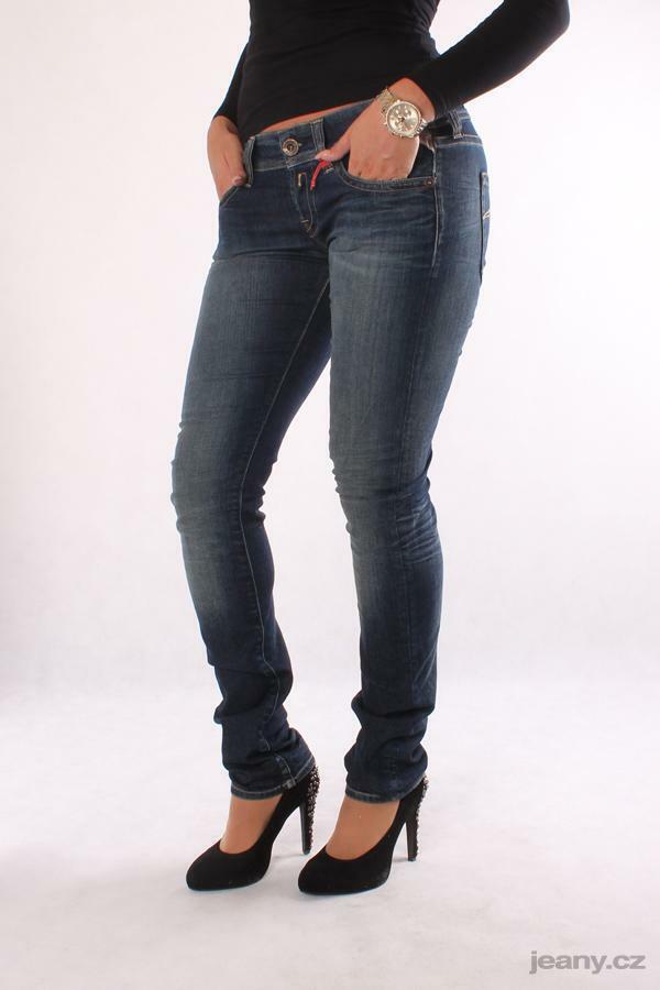 Ponctuel Replay Wx660 575 445 009 Fabienne, Jeans Femmes, Pantalon, Bleu, Trousers