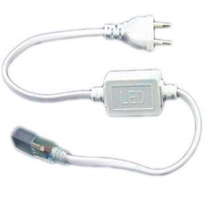 SPINA-ALIMENTATORE-STRISCIA-LED-220V-TRASFORMATORE-BOBINA-ADATTATORE-LED-5050
