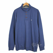 IZOD Saltwater Relaxed Classic Mock Long Sleeve 4 Button Fleece ...
