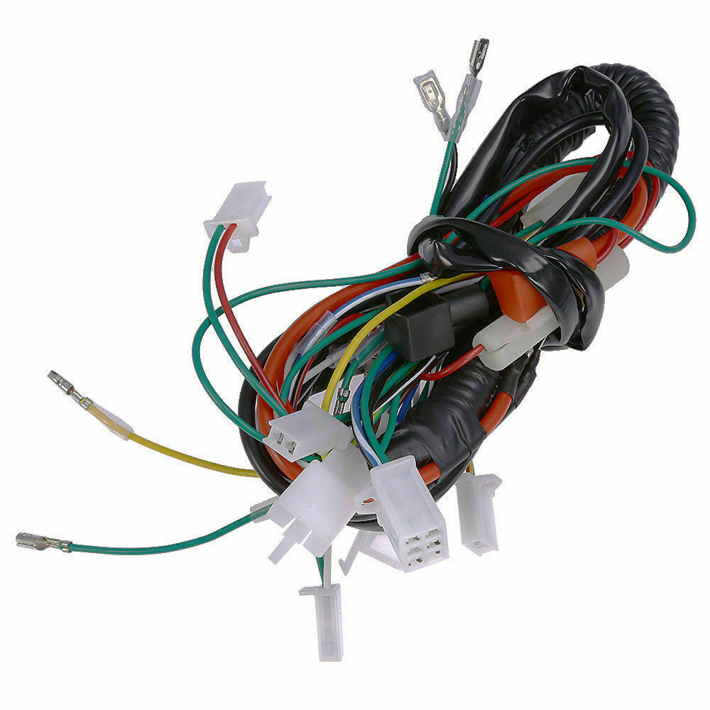Electric Wiring Harness for Chinese ATV UTV Gokart Taotao 50 70 90 110  125cc US for sale online | eBay | 110 Roketa Eagle Atv Wiring Harness |  | eBay