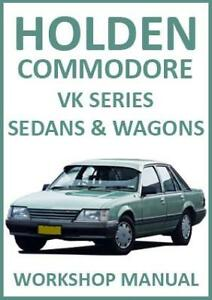 holden commodore vk series workshop manual ebay rh ebay com au Holden Commodore VK 96 Holden VK Supercharged