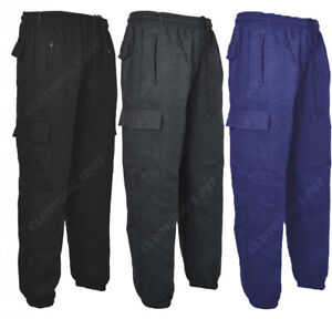 J1-Mens-Cargo-Combat-Jogging-Bottoms-Trousers-Elasticated-Tracksuit-Joggers-Gym