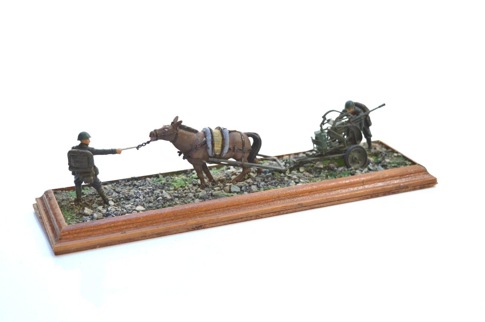 ITALERI HORSE DRAWN BREDA 20 65 1 35