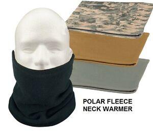 Polar-Fleece-NECK-WARMER-Cold-Weather-Gaiter-Face-Mask-Ski-Snowboard-USMC-Army