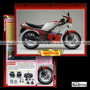 065-04-Fiche-Moto-YAMAHA-RD-350-LC-RDLC-1985-Motorcycle-Card