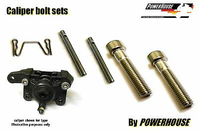 Suzuki SV 650 S 99-02 Stainless joint bolt & pin set Tokico rear brake caliper