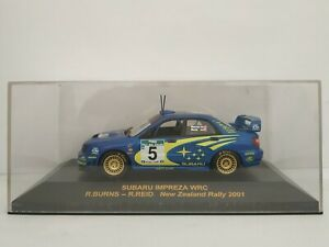 1-43-SUBARU-IMPREZA-WRC-2001-NEW-ZELLAND-RALLYE-IXO-RALLY-CAR-ESCALA-DIECAST