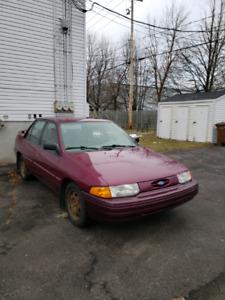 Ford Escort Lx 1995 1.9l