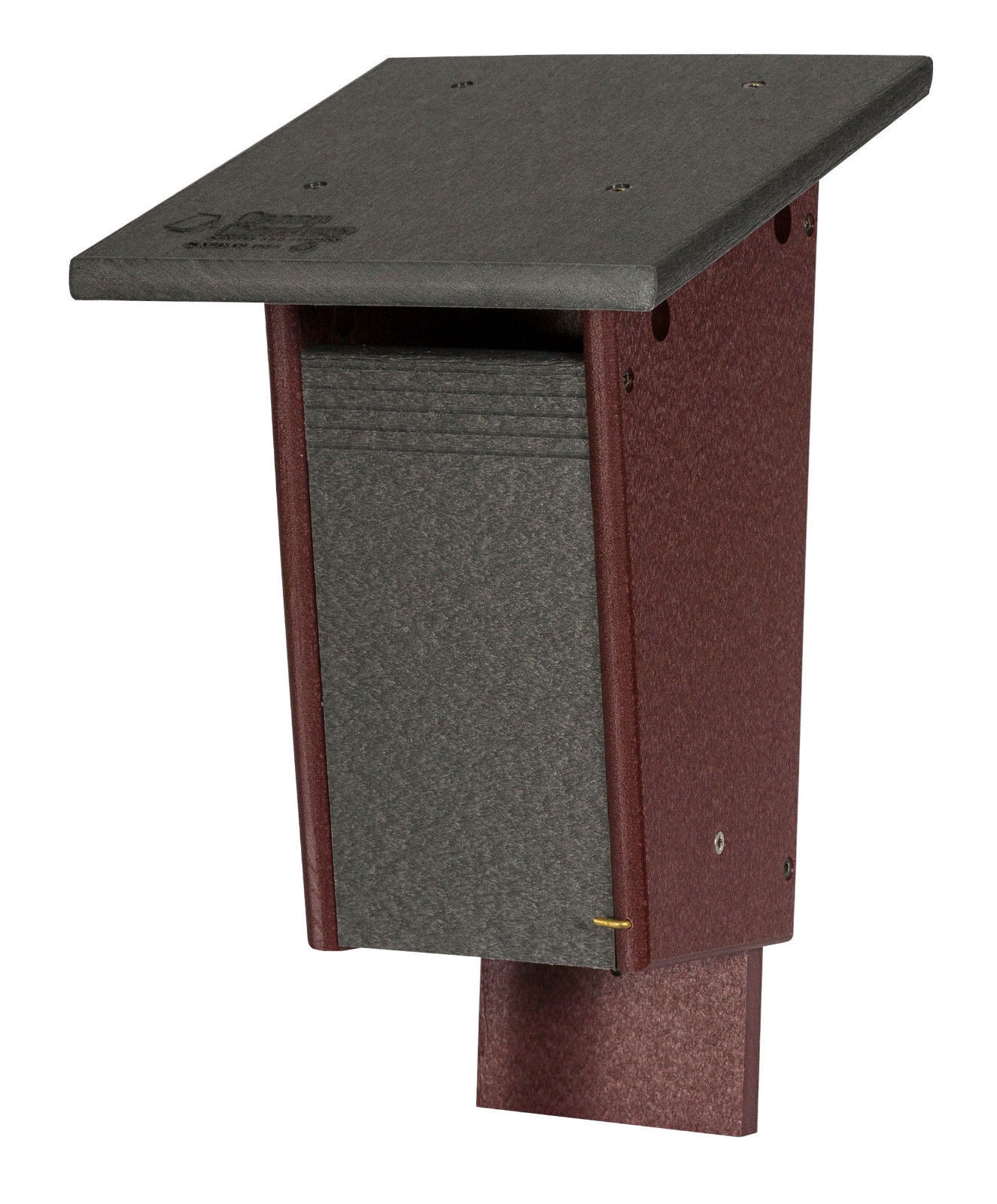"""Sparrow Resistant blåBIRD HOUSE Amish built Weatherproof Polywood  8""""w x 14""""h"""