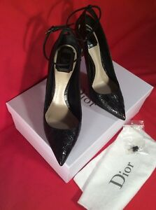 NIB-Christian-Dior-ladies-crocodile-shoes-pumps-37-5
