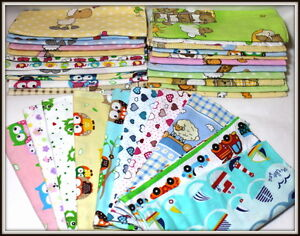 Flannel-Squares-Printed-100-Cotton-70x80cm-31-27in-Reusable-Nappy-Blanket-Bibs