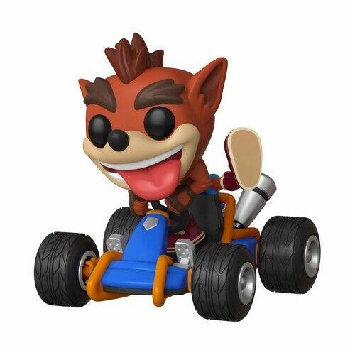 Crash Bandicoot 2019, Toy NUEVO Funko Pop Rides: Crash Team Racing