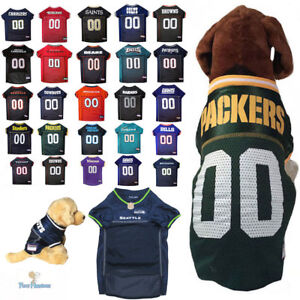 ea4f433cb NFL Fan Game Gear Dog Jersey Shirt for Dogs-PICK YOUR TEAM XS-2XL ...