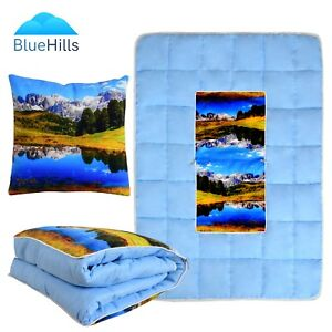 High-Quality-2In1-Throw-Pillow-And-Blanket-63-034-x43-034-Combo-Cushion-Quilt-Comforter