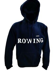 Rudern Rowing Aviron Hoodie Kapuzenpullover unisex marine S-XXL