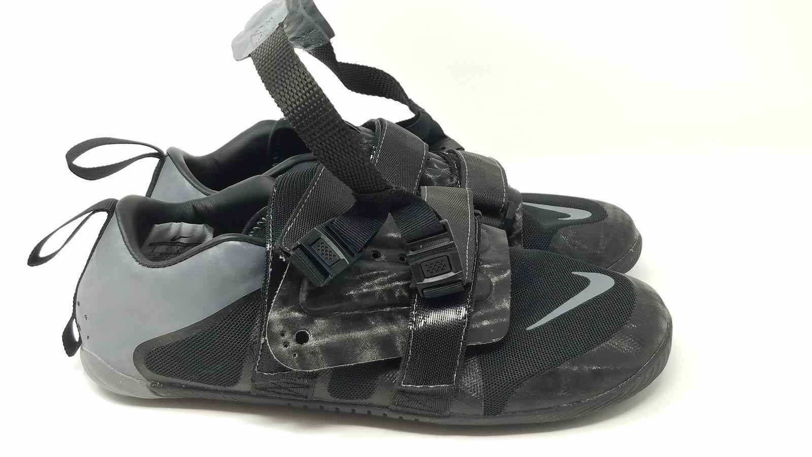 Nike OMADA 3 Rowing Rowing Rowing shoes Black Grey 803081-001 Sz 6 7754d2