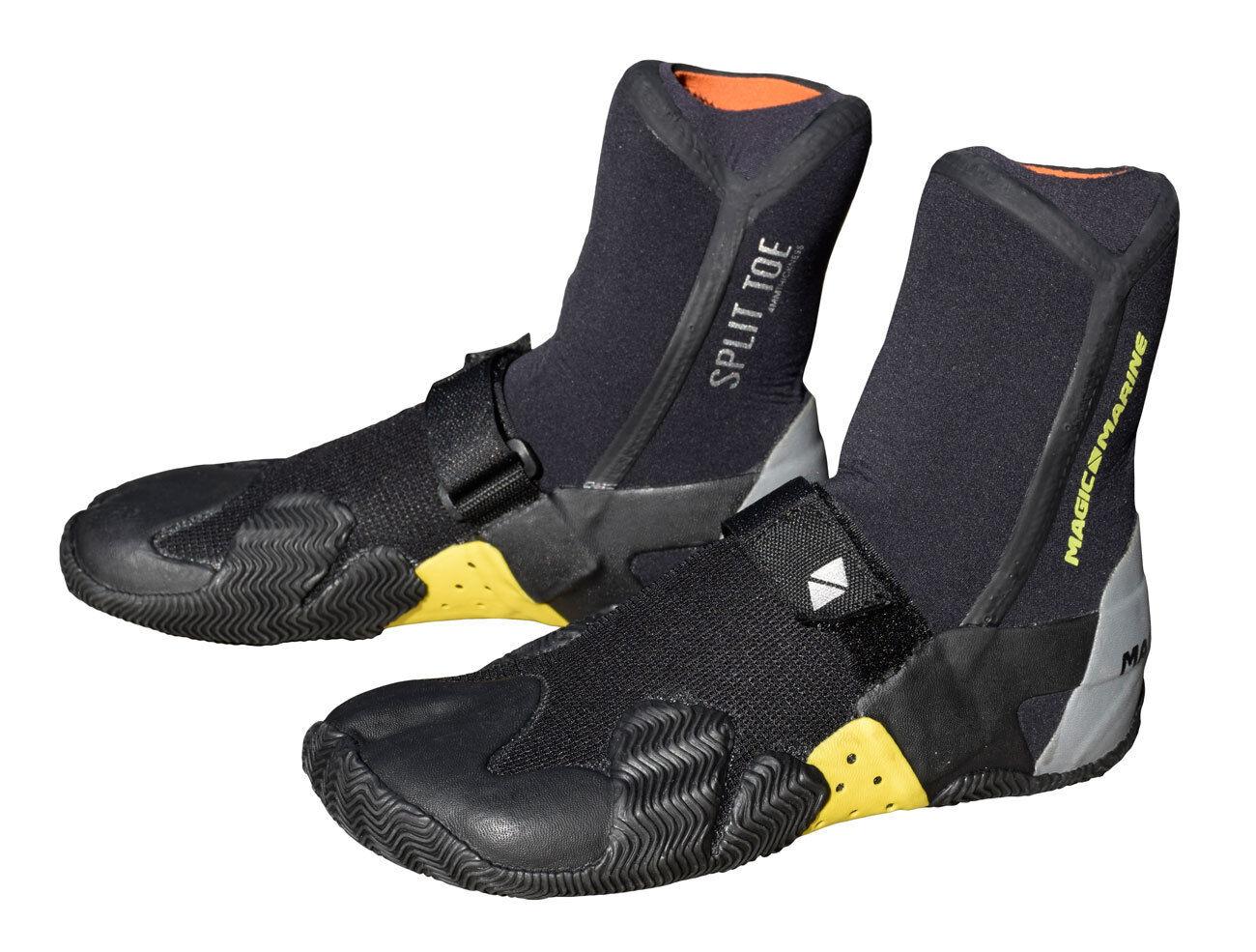 Magic Marine Unisex Water shoes 4mm Neoprene, Reinforced Lace, Split Toes