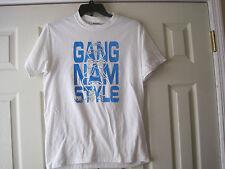PSY Gangnam Style Sexy Lady White T-Shirt~Size M~LBDEO