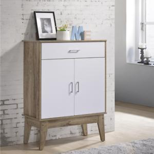 Shoe-Cabinet-Storage-Rack-Organiser-Shelf-120cm-Oak-Wood-Scandinavian-Style