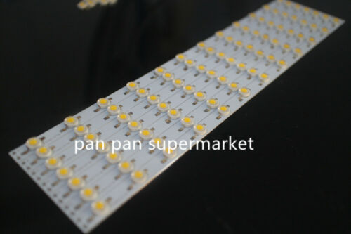 5pcs 3W white 6000k  High power led with 30CM x 1CM Aluminium PCB Circuit
