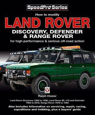 LAND ROVER DEFENDER MODIFYING MANUAL BOOK RESTORATION SHOP SERVICE ...